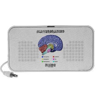 Scatterbrained Inside Brain Humor Speakers