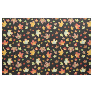 Scattered Autumn Leaf Fabric--Customizable Fabric