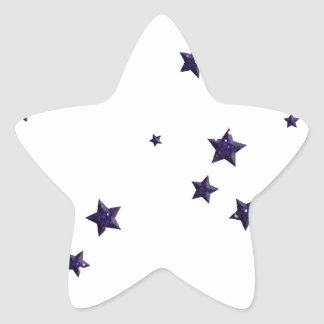SCATTERED DARK PURPLE STARS ACCENTS TEMPLATE BACKG STAR STICKERS