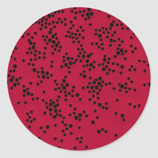 Scattered Dots Sticker