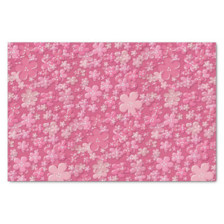 Scattered Flowers-Mauve-TISSUE WRAPPING PAPER