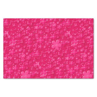 Scattered Flowers-Pink-TISSUE WRAPPING PAPER