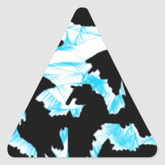 scattered thoughts 1.jpg triangle sticker