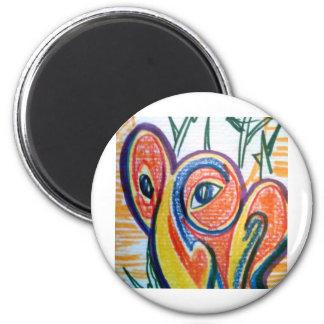Scav Anger Hangover 6 Cm Round Magnet