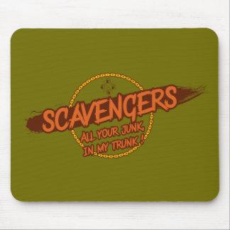 Scavengers logo mouse pad
