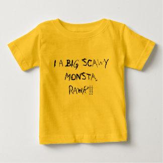 SCAWY MONSTA (Yellow) Baby T-Shirt