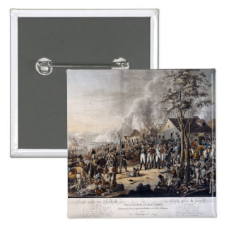 Scene after the Battle of Waterloo 15 Cm Square Badge