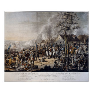 Scene after the Battle of Waterloo Poster