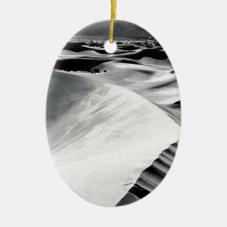 Scene Death Valley Sand Dunes Christmas Ornament