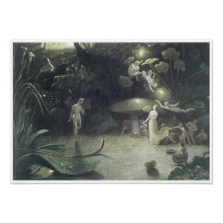 Scene from a Midsummer Night s Dream 1832 Posters