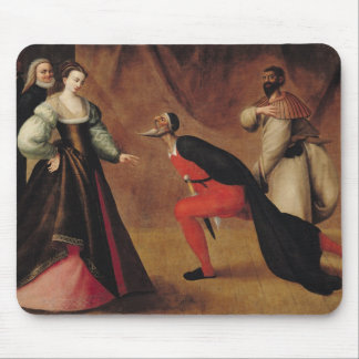 Scene from a Play Mouse Mat