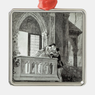Scene from Act II of Romeo and Juliet Christmas Ornament