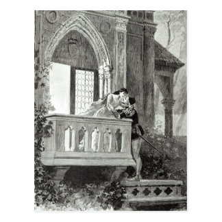 Scene from Act II of Romeo and Juliet Postcard