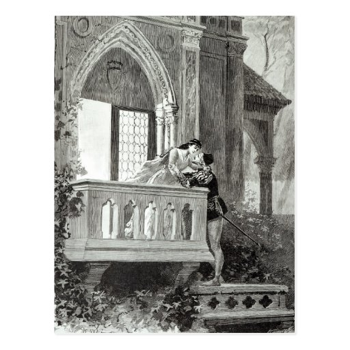 Scene from Act II of Romeo and Juliet Postcards