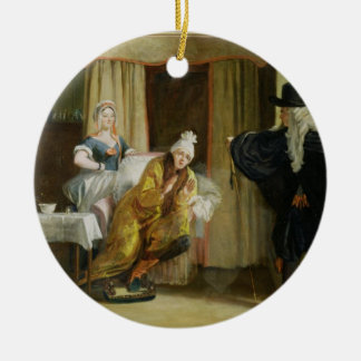 Scene from 'Le Malade Imaginaire' by Moliere (1622 Christmas Ornament