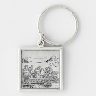 Scene from Maximilian's Triumphal Procession Key Chains