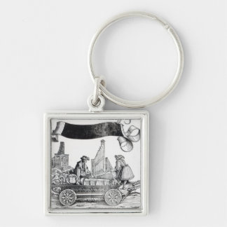 Scene from Maximilian's Triumphal Procession Keychains