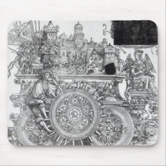 Scene from Maximilian's Triumphal Procession Mouse Mat