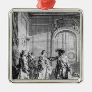 Scene from 'Othello' by William Shakespeare Christmas Ornament