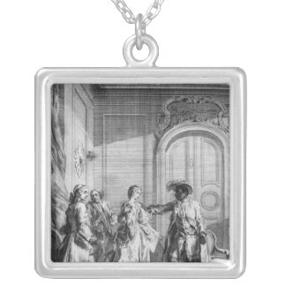Scene from 'Othello' by William Shakespeare Silver Plated Necklace