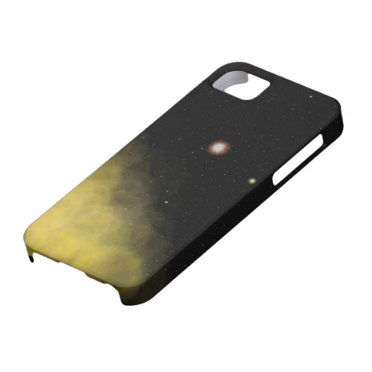 Scene from space iPhone 5 case