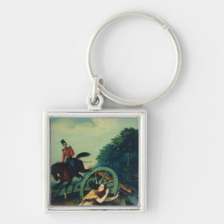 Scene from the 1812 Franco-Russian War, 1830s Keychain