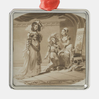 Scene from 'The Abduction from the Seraglio' Christmas Ornament