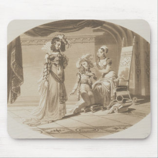 Scene from 'The Abduction from the Seraglio' Mouse Mat