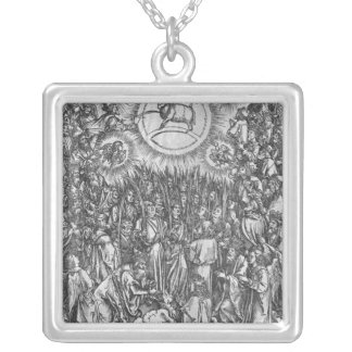 Scene from the Apocalypse, Adoration of the Silver Plated Necklace