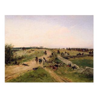 Scene from the Franco-Prussian War Postcard