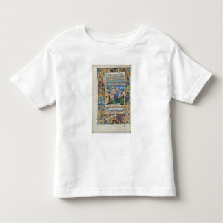 Scene from the 'Hours of Louis d'Orleans' Toddler T-Shirt