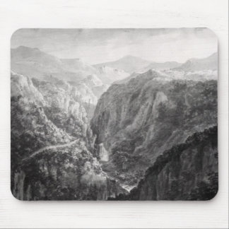 Scene from the Inn at Devil's Bridge with the Fall Mouse Mat