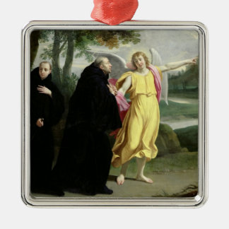 Scene from the Life of St. Benedict Christmas Ornament