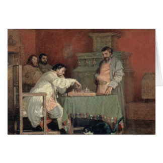 Scene from the Life of the Russian Tsar Card