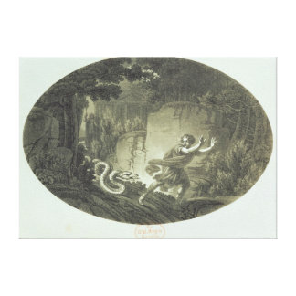 Scene from 'The Magic Flute' by Mozart Stretched Canvas Prints