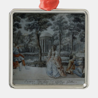 Scene from 'The Magic Flute' Christmas Ornament