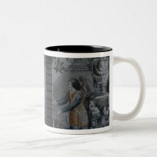 Scene from 'The Magic Flute' Two-Tone Coffee Mug