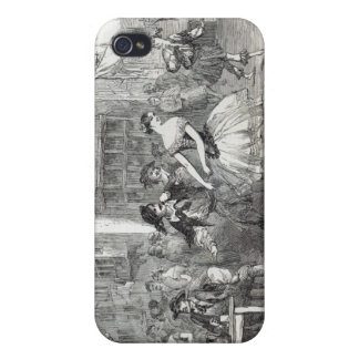 Scene from the new Ballet of 'The Wags of iPhone 4 Covers