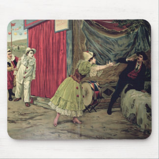 Scene from the opera 'Pagliacci' Mouse Mat