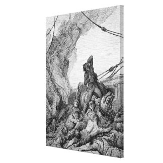 Scene from 'The Rime of the Ancient Mariner' 2 Canvas Print