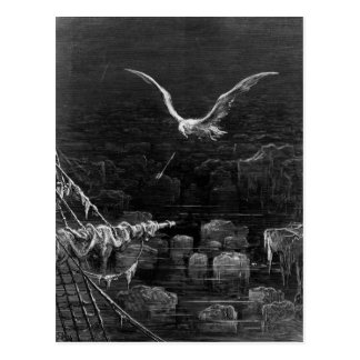 Scene from 'The Rime of the Ancient Mariner' 2 Postcard