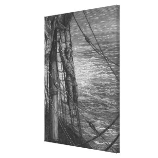Scene from 'The Rime of the Ancient Mariner' 3 Canvas Print