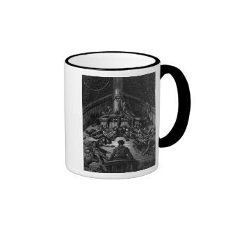 Scene from 'The Rime of the Ancient Mariner' 3 Coffee Mugs