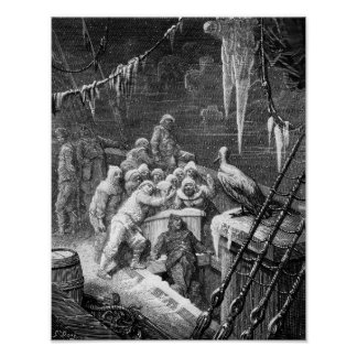 Scene from The Rime of the Ancient Mariner 3 Print