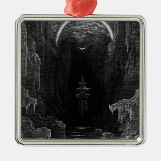 Scene from 'The Rime of the Ancient Mariner' Christmas Ornament