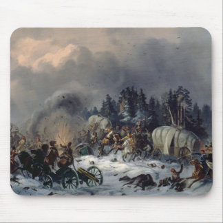 Scene from the Russian-French War in 1812 Mouse Pad