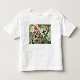 Scene from the Sino-Japanese War in Korea (wood bl Toddler T-Shirt