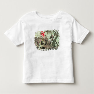 Scene from the Sino-Japanese War in Korea (wood bl Toddler T-Shirt