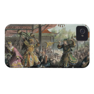 Scene from the Spectacle of 'The Sun and Moon', fr iPhone 4 Cover
