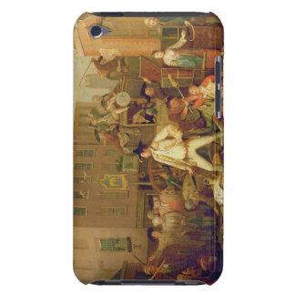 Scene in a London Street, 1770 (oil on canvas) Case-Mate iPod Touch Case